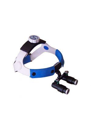 4.0x Binocular Kepler Head Band Loupe Magnifier Glasses