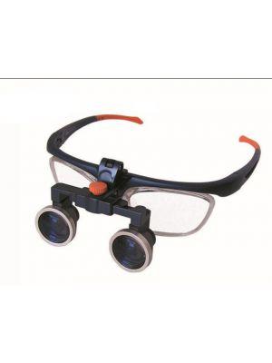 2.5x Binocular Galileo Head Band Loupe Magnifier Glasses FD-503G