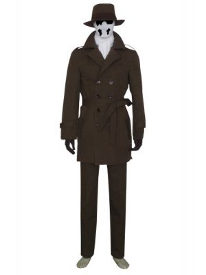 Rorschach Cosplay Costume: The Watchman Movie